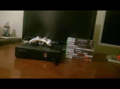 Xbox 360 Slim 250GB with 2-4 Games Of Your Choice, And Headset