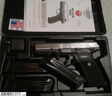 For Sale: Ruger SR9, 3mags, 150rds ammo