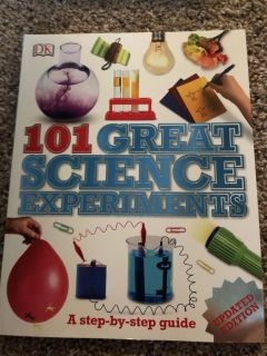 New Science experiment book