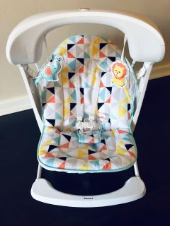 Fisher-Price Deluxe Take Along Swing & Seat.