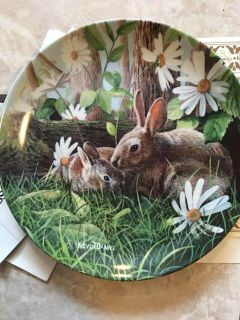 Bunnies Collector s Plate