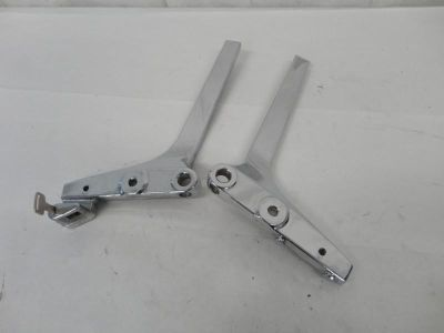 Sell 1986-2010 Suzuki VS800 Stock Chrome Sissy Bar Mounting Arms 3155 motorcycle in Kittanning, Pennsylvania, US, for US $9.99