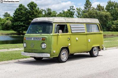 1978 Volkswagen Westfalia Camper Bus