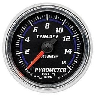 Purchase Autometer 2in. PYROMETER; 0-1600 F; FSE; COBALT motorcycle in Acworth, Georgia, US, for US $185.28