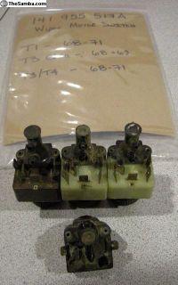 141955517A Wiper Motor Switch 12v 2spd