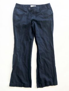 Womens Old Navy Casual Navy Blue Pants - Sz 8