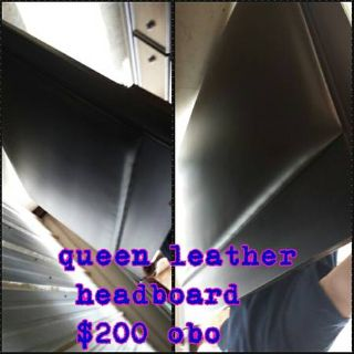 queen leather headboard from ashley furniture