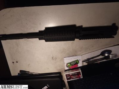 For Sale: AR15, 9mm upper