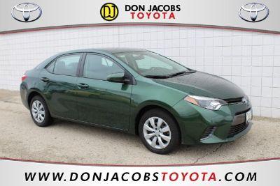 2016 Toyota Corolla L (Green)