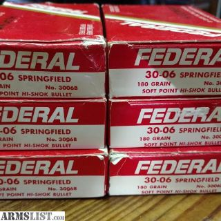 For Sale: 30-06 Ammo