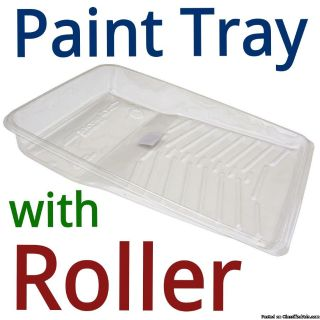PAINT TRAY WITH ROLLER