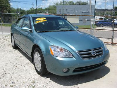 2002 Nissan Altima 2.5 (Blue)