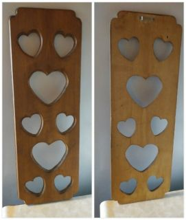 Solid Wood HEART Wall Hanging