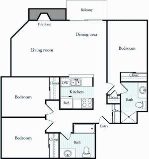 3 bedroom in Emeryville