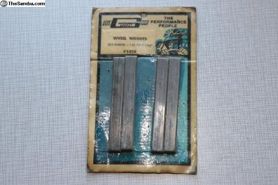 NOS boxed Mr. Gasket Vintage wheel weights #2