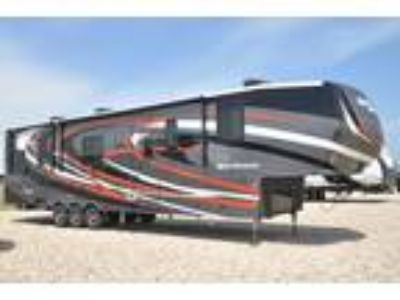 2019 Heartland Road Warrior RW429 Bath & 1/2 W/ Ext TV, 3 A/Cs, Res Fridge