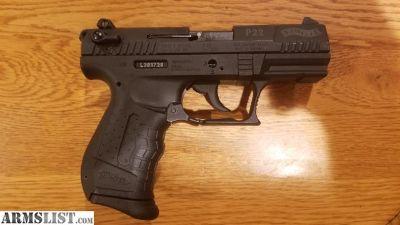 For Sale: Walther P22 .22LR Semi-Auto Pistol