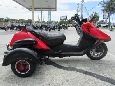 2006 Honda Trike Helix 250 Scooter Voyager (Red)
