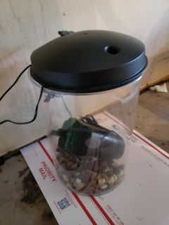 3 gallon fish tank with extras