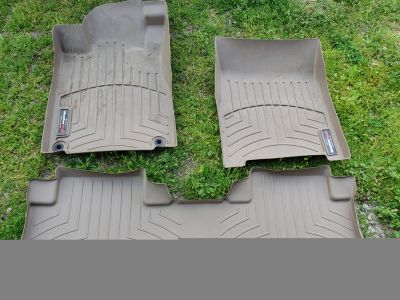 Weathertech mats tan front and back seats