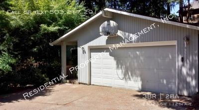 Secluded ranch style home in Sherwood minutes from I-5!