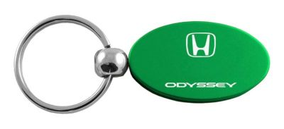 Purchase Honda Odyssey Green Oval Keychain / Key fob Engraved in USA Genuine motorcycle in San Tan Valley, Arizona, US, for US $14.61