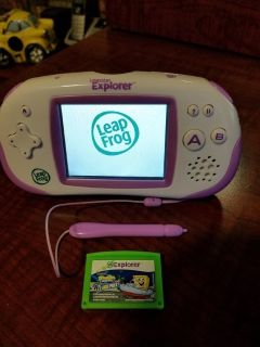 Leapster Explorer Learning System with 1 game