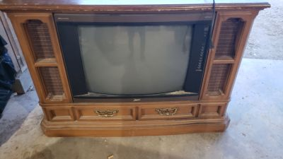MOVING SALE.... FREE TV Console