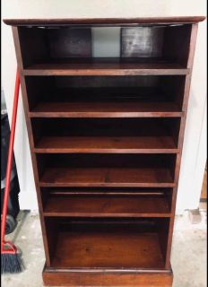 Solid wood media cabinet/display shelf/kitchen shelf
