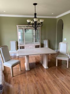 Dining table w/ chairs /china cabinet