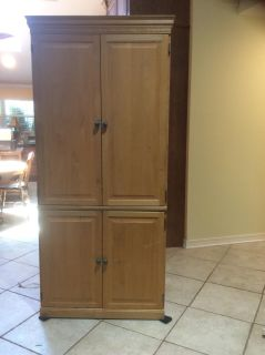 TV Armoire- WOOD