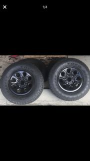 Chevy Tahoe/ suburban OEM police steel black wheels