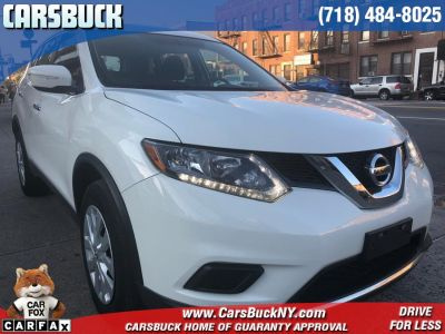 2015 Nissan Rogue AWD 4dr SV (WHITE)