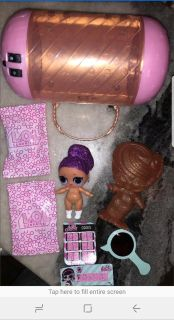 LOL SURPRISE DOLL UNDER WRAPS BLING QUEEN