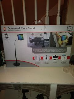 New in the box CTA Gooseneck Floor Stand for iPad and Tablets