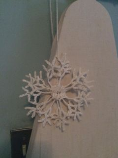 Handcrafted Snowflake Hanging