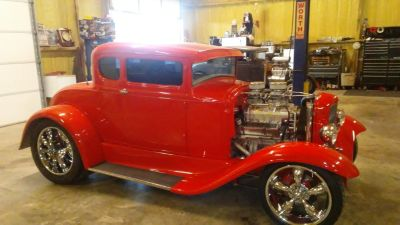 1930 FORD COUPE BLOWN