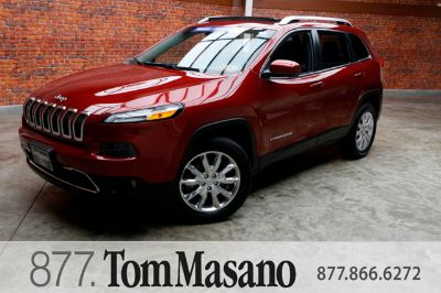 2015 Jeep Cherokee Limited (Deep Cherry Red Crystal Pearlcoat)