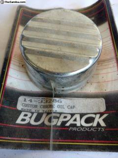 Bugpack oil cap