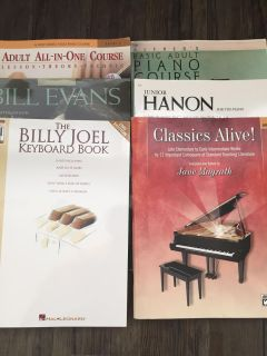 Assorted Piano Instruction and Performance Materials