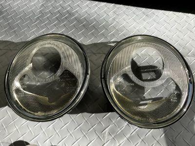 Genuine Porsche 993 Headlight lenses in v.good condition from 34k car $110 shipped