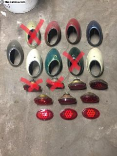 Snowflake tail light lot
