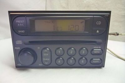 Purchase 00 01 02 03 04 Nissan Xterra Frontier Radio Cd Player PP-2449H CY140 RC339 motorcycle in Williamson, Georgia, United States, for US $155.00