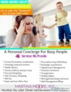 Need more time with the family HIRE A PERSONAL CONCIERGE (Tampa)