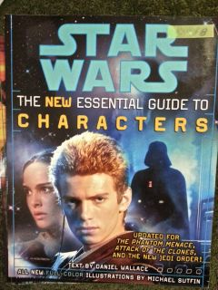 "Star Wars ""The New Essential Guide To Characters"""