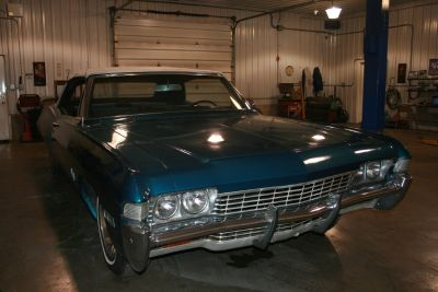 1968 Chevy Impala Convertible