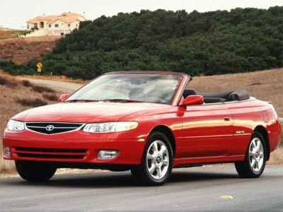 2001 Toyota Camry Solara SE V6 (Red Flame Metallic)