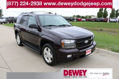 2008 Chevrolet Trailblazer LS (Dark Cherry Metallic)
