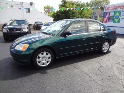 2002 Honda Civic EX (Gray)