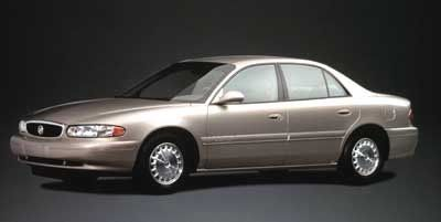 2000 Buick Century Custom (Bordeaux Red Pearl)